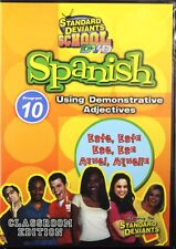 Standard Deviants School Spanish Program 10, Demonstrative Adjectives NEW DVD
