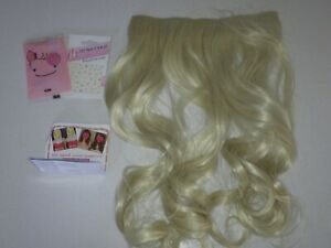 "REECHO 18"" 1-Pack 3/4 Full Head Curly Wavy Clips in on Synthetic Hair Extensions"