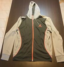 Jordan Hooded Zipped Track Jacket - Grey - Large L