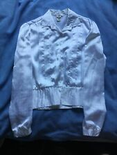 C&A 80s Style White Shirt Top Pirate Fancy Dress EUR 38