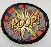 Poop Explosion Morale Patch Tactical Military Army USA Flag USA Hook