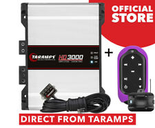 Taramps HD 3000 2 Ohm Amplifier 3000 Watts RMS + Tlc Control Violet