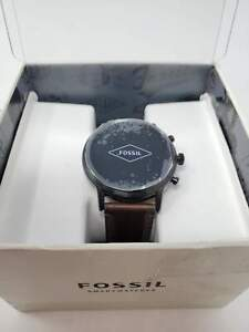 Fossil Gen 5 Carlyle HR Heart Rate St. Steel and Leather Touchscreen Smartwatch