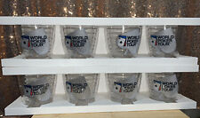 2 Boxes of 4 Tervis Tumblers  SET of 8 World Poker Tour 12 oz +Free Shades