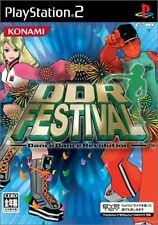 Used PS2 DDR Festival Dance Dance Revolution   Japan Import (Free Shipping)