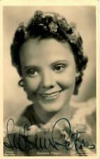 Sabine Peters Ross A 2742/1 signiert, Autogramm