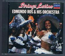 EDMUNDO ROS & HIS ORCHESTRA STRINGS LATINO CD F.C