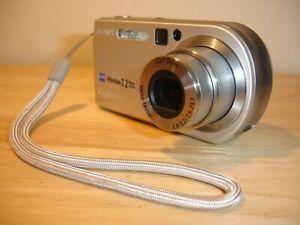 Sony Cyber-shot DSC-P200 7.2MP Digital Camera - Silver - Boxed + Accessories