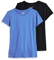 Essentials Women's 2-Pack Tech Stretch, Bright Blue/Black, Size Large