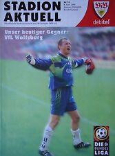 Programm 1999/00 VfB Stuttgart - VfL Wolfsburg