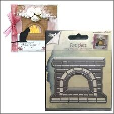 Fire Place metal die - Joy Crafts Cutting Dies 6002/0549 All Occasion Christmas