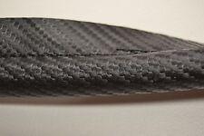 CARBON FIBER LOOK BLACK STITCHED VINYL BLACK HEADLINER WINDLACE BY THE FOOT