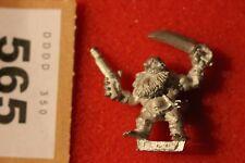 Games Workshop WARHAMMER lunga drong Nano Slayer Pirati Figura Metallo NANI C
