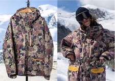 Mine77 Burton 2L GORE-TEX LIGHTWEIGHT JACKET Medium Floral