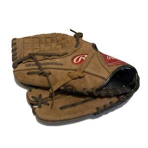 "Rawlings PP115BC 11.5"" Player Preferred LHT Baseball Glove Mitt Youth Basket Web"