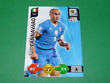 CANNAVARO  ITALIA  PANINI FOOTBALL FIFA WORLD CUP 2010 CARD ADRENALYN XL