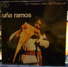 UNA RAMOS LP Un Roseau Plein de Musique NM/NM French Press Flutes Des Andes 1976