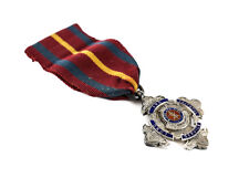 Sterling Silver Enamel Salvation Army Long Service Medal Bent & Parker 1947