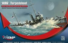 Mirage 350505 , A 86 German Torpedoboat A/III Class - WWI , SCALE 1/350