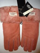 UGG® Australia  SHEARLING Turn Cuff GLOVES Baked Clay/Pink, Large