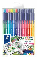 Staedtler Triplus® Color Fibre-Tip/26 Brilliant Colours/1.0mm/Triangular/6 Neon