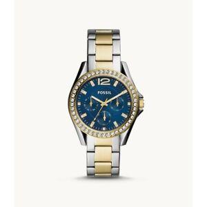 Fossil Women's Riley Two-Tone Stainless Steel Bracelet Watch 38mm