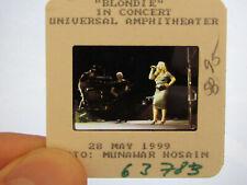 More details for original press promo slide negative - blondie - debbie harry - 1999 - b