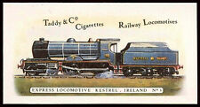 Express Locomotive Kestrel Ireland #3 Railway Locomotives,Cigarettes Card (C145)