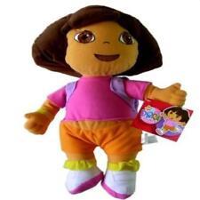"""Nick Jr. Dora The Explorer Large Plush Doll 13"""" Dora Plush Toy Play Soft New"""