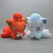 "2pcs Q Alola Vulpix 6"" Poke Doll Plush Doll Stuffed Toy"