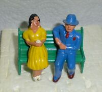 "Vintage Lead Barclay ""Man And Woman On Park Bench"" B178 Near Mint Cond F/S Lot A"