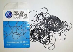 100 o ring GASKETS rubber seal washers WATCHES 14.30mm Repair Kits o-rings