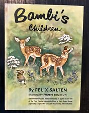 Bambi's Children By Felix Salten 1939-1950