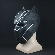 Maschera PANTERA NERA MARVEL SUPERHERO Cosplay Maschera in lattice PARTY