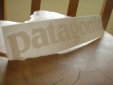 Patagonia Logo Die Cast Trail Running, Fly Fishing, Hiking, decal/sticker