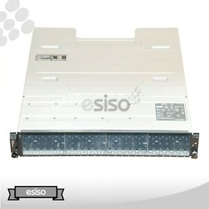 DELL EQUALLOGIC PS4100 24x SFF STORAGE CHASSIS 2x TYPE 12 MODULE 2x PSU NO HDD
