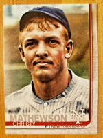 2019 Topps Series 2 SSP Photo Image Variation Parallel Christy Mathewson #574 SP