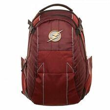 DC Comics The Flash Built  Backpack Laptop Bag - Free Shipping