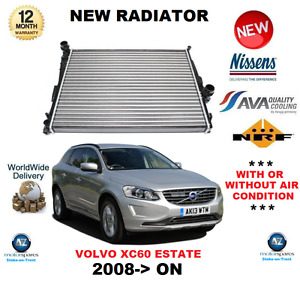 FOR VOLVO XC60 ESTATE RADIATOR 2008>ON T5 T6 D3 D4 D5 2.4 3.2 AWD * OE QUALITY *