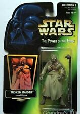 Star Wars Potf Green Hologram Card ~ Tusken Raider ~ Kenner 1996 Figure Unopened