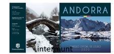 KMS Andorra 2020 : 1 Cent - 2 Euro im offizielen Blister  BU