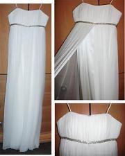NEW Marc Bouwer Glamit Silk Bridal Wedding Dress-NEVER WORN! Sz 8-NWT-Orig $695
