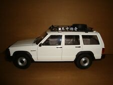 1/18 New China BJ jeep Cherokee model white color