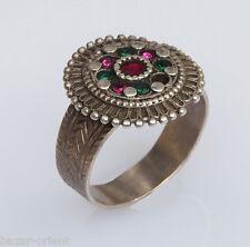 antik orient  Afghan vintage nomaden silber Ring  nomadic silver ring  Nr-22