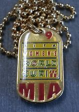 CLOSE OUT 25 PIECES - MIA HAMM #9 WOMEN'S WORLD CUP 1999 DOG TAG