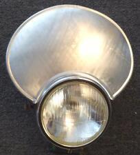 MV 175 OHC Rickman Cheney SET/3 handmade alloy number plates ISDT160mm headlight