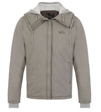 Vans womens ladies lined hooded warm winter jacket coat Medium uk camo green
