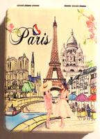 Miroir de Poche  9X6 cm MRR7 Maquillage Cadeaux Souvenir Paris Tour Eiffel