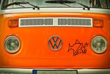 Böser Fisch  Auto Aufkleber Cool Fun  Wunschfarbe