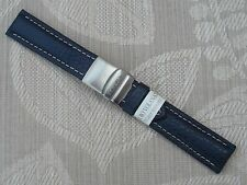 MORELLATO genuino cuero reloj correa de Banda con Broche plegable 20MM PVP £ 19.95